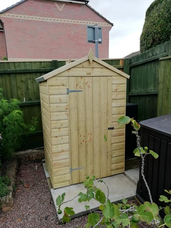 Image 199 - Sentry style shed