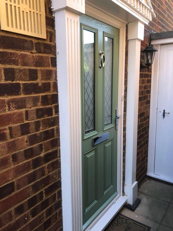 Image 99 - Shoebury-Chartwell green composite door
