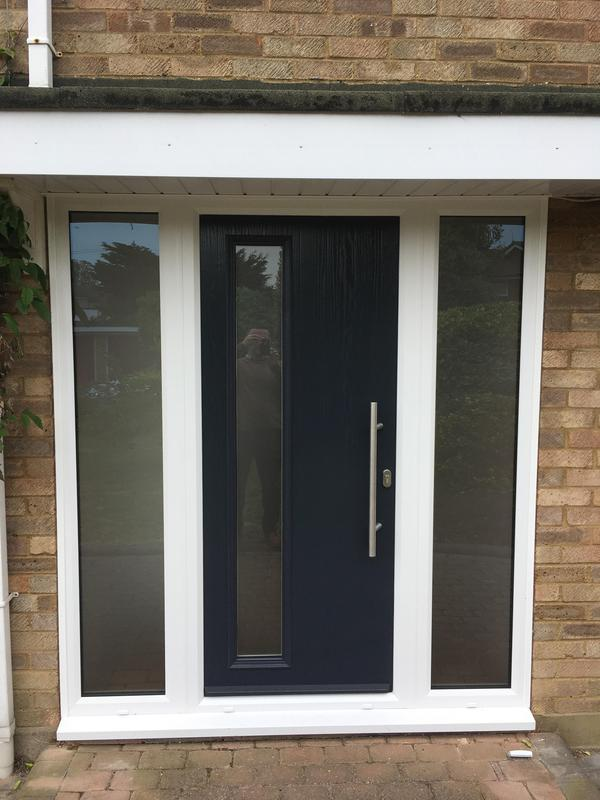 Image 97 - Shoeburyness-Blue composite door