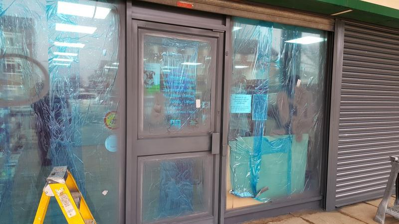Image 6 - During Shop Front Re spray