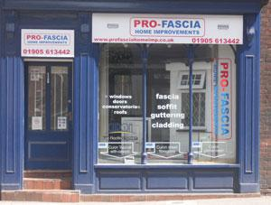 Image 7 - Pro-Fascia have a visitable premises, which displays all of our product range.