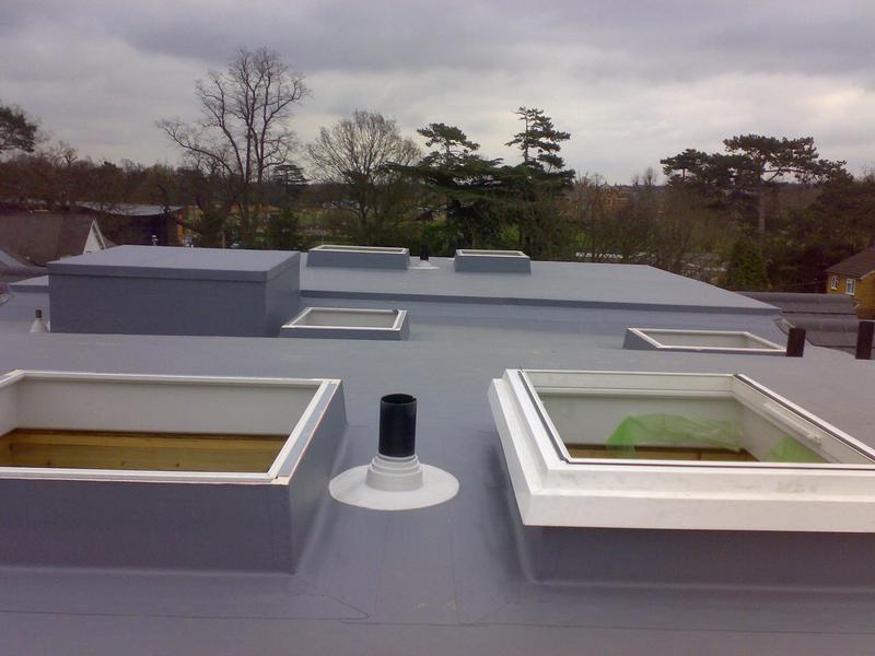 Image 1 - New Build, Soprema PVC Single Ply Membrane - Bushey, Hertfordshire