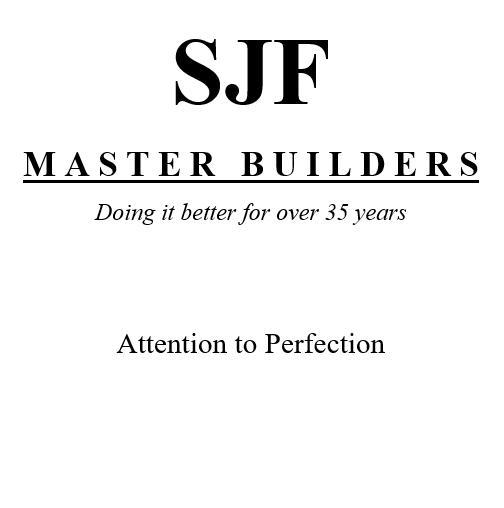 SJF Master Builders logo