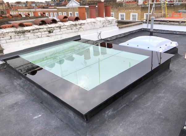 Image 33 - A new skylight installed to a luxury property in Chelsea