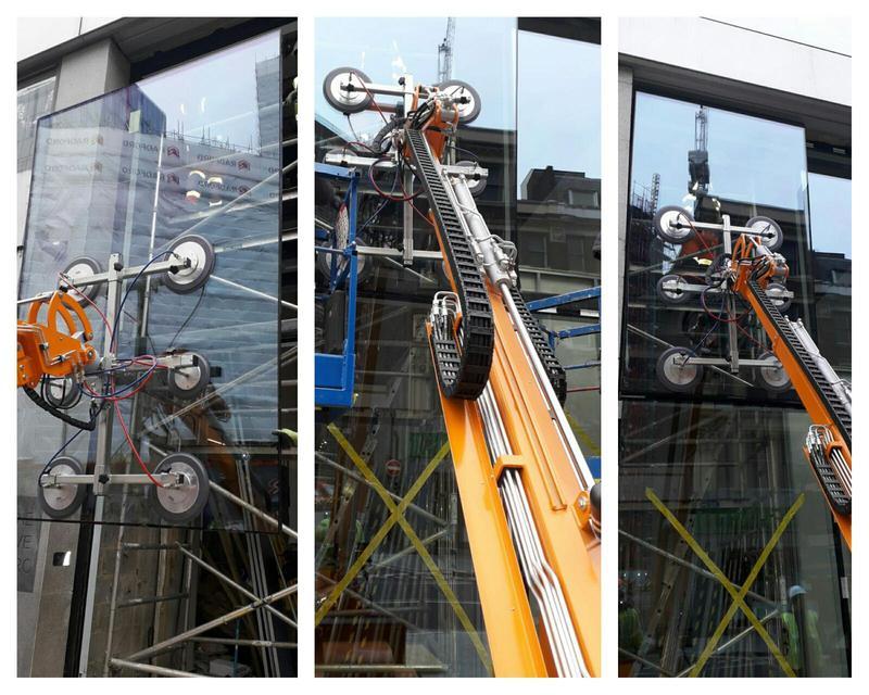 Image 30 - Specialist glazing machinery.