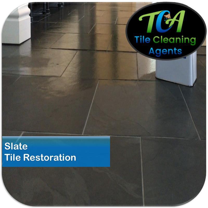 Image 11 - Slate floor cleaning and sealing service