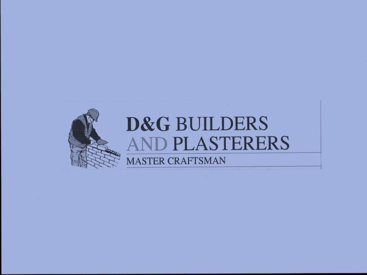 D&G Builders & Plasterers logo