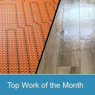 Top work of the Month - January