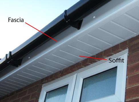 Image 21 - New fascia, sophet and gutter instalation