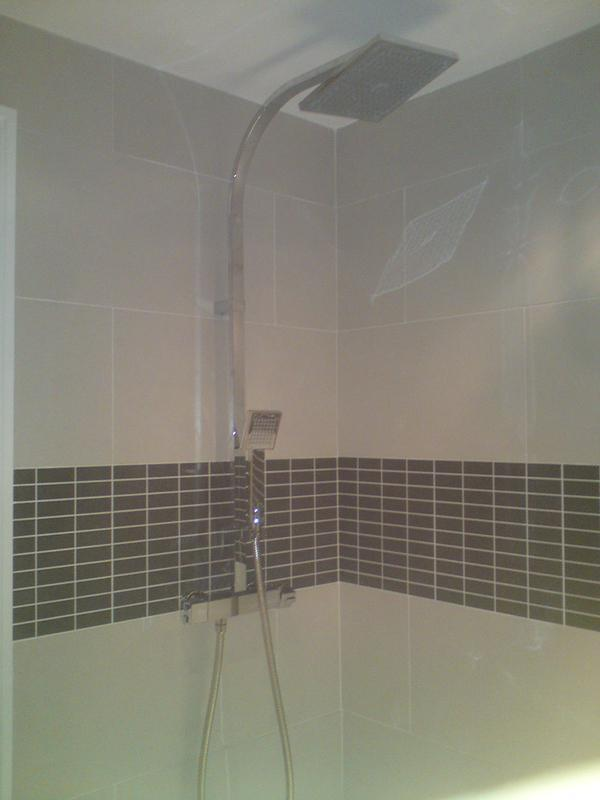 Image 122 - new mixer shower and tiling