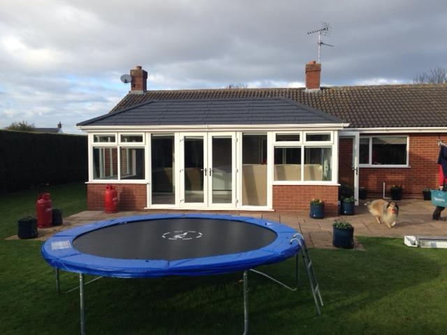 Image 61 - Spalding job after Supalite tiled roof has been fitted