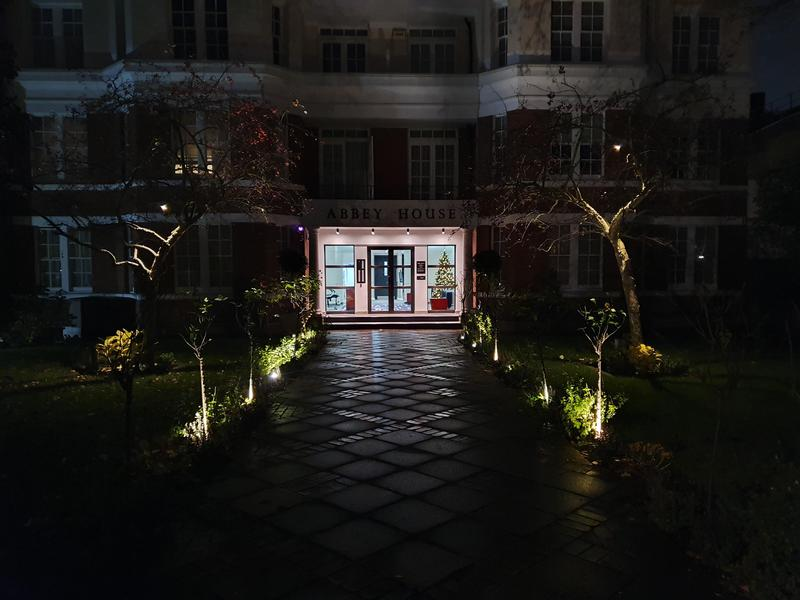 Image 2 - External lighting to entrance of block in St Johns Wood