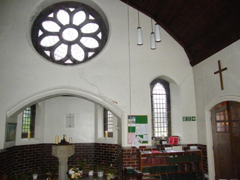 Image 5 - St Philips Church Ramsbottom cracking and water damage