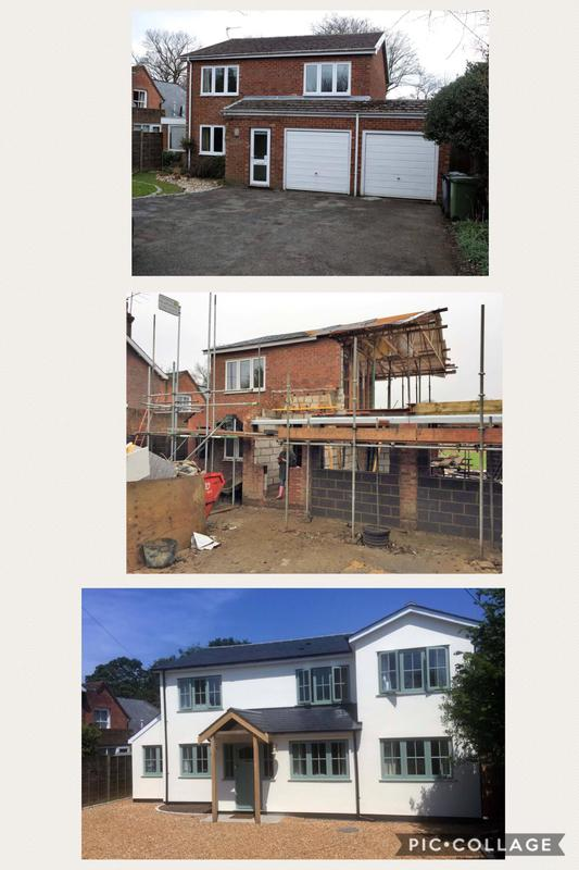 Image 27 - Before, during & after. 2 side & 1 rear extension plus complete refurbishment.