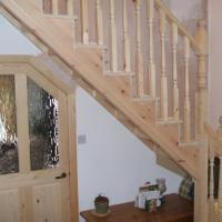 Image 28 - Stairs and doors at a cottage