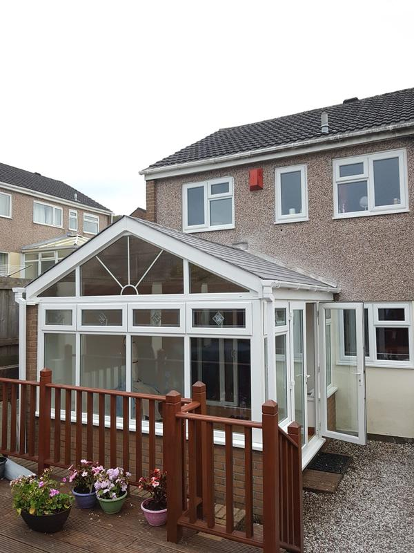 Image 11 - Sold this conservatory some 16 years ago and recently refurbished it with new TAPCO slate and some love. A very proud client now having a new lease of life on their home with more usable floor space.www.conservatorymakeovers.com