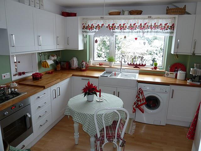 Image 11 - Shaker cottage style kitchen installed as part of a complete refurbishment with oak worktops.