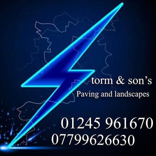 Storm and Sons Paving and Landscapes logo