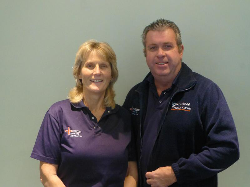 Image 20 - Stuart and Barbara Founders of Electrical Solutions