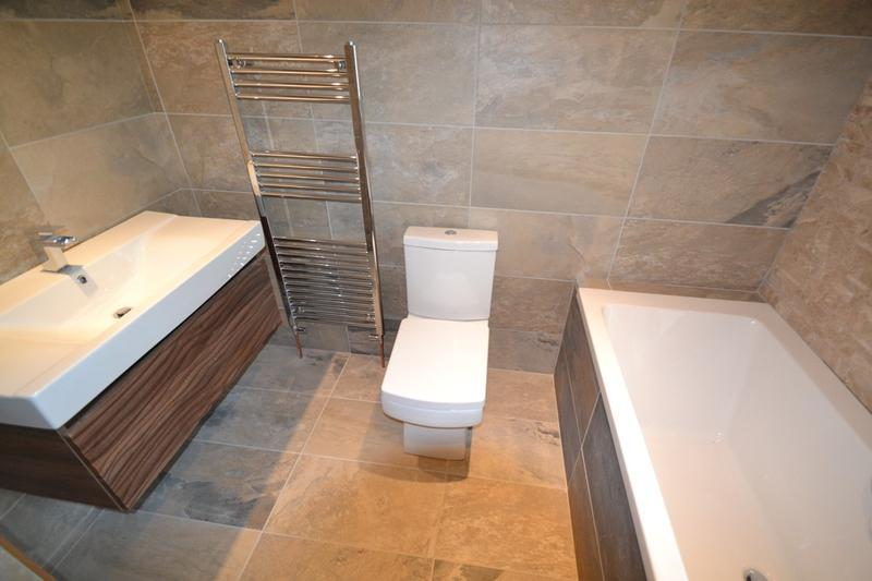 Image 35 - Master bathroom fitting, Acton, Sudbury, by DKM Developments Ltd, builders, Great Dunmow, Essex.