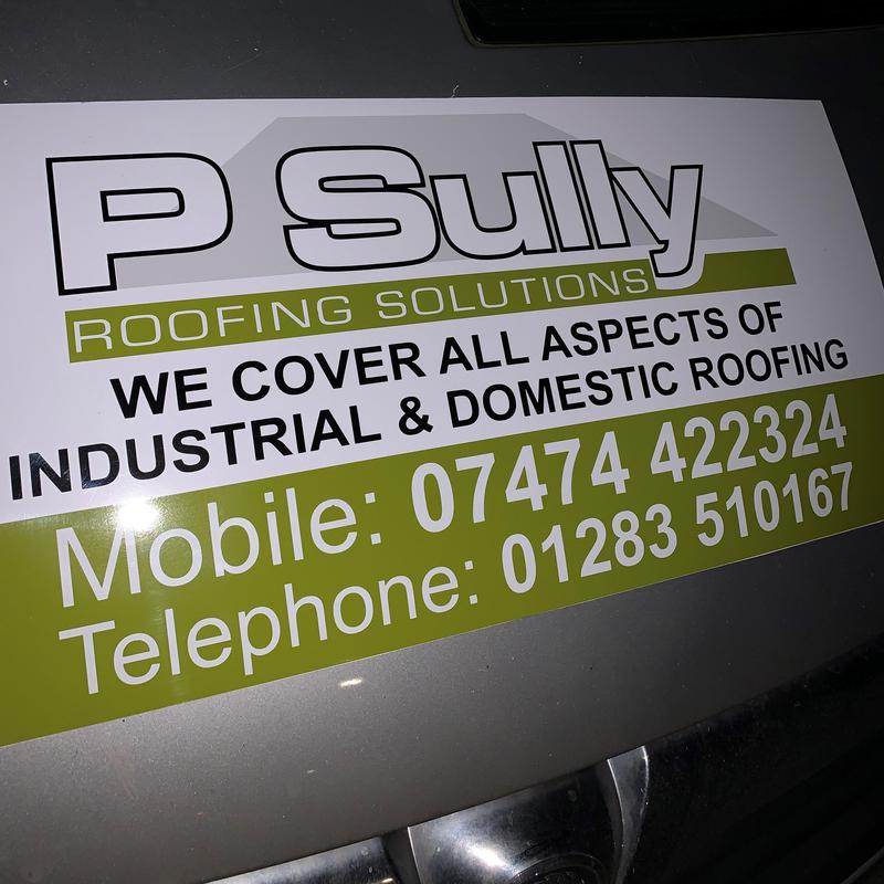 P Sully Roofing Solutions logo