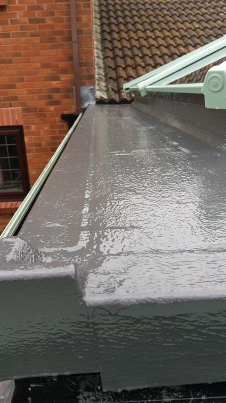 Image 1 - Super roofing team, paying attention to detail whether GRP or EPDM. Loving their work.www.conservatorymakeovers.com