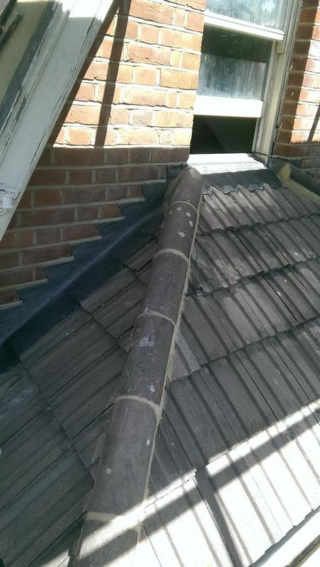 Image 29 - small Repair, baby ridge & lead-work installed