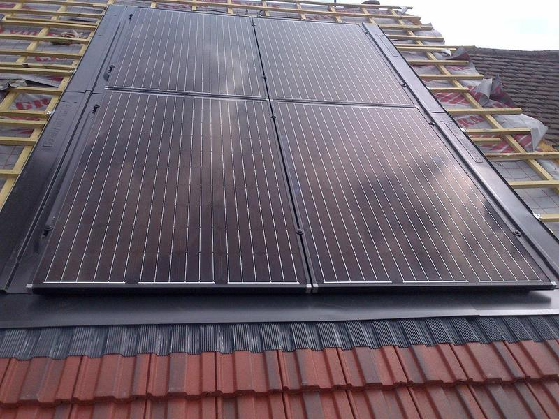 Image 30 - new German solar pv panels with dry tray systm