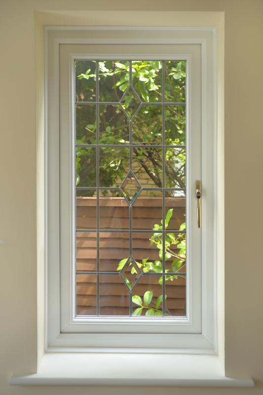 Image 15 - internal view of leaded window