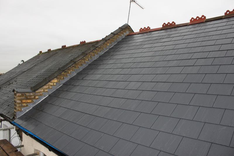 Image 32 - Slate roof complete