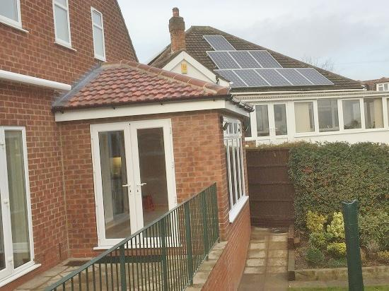 Image 2 - Conservatory converted into extension.