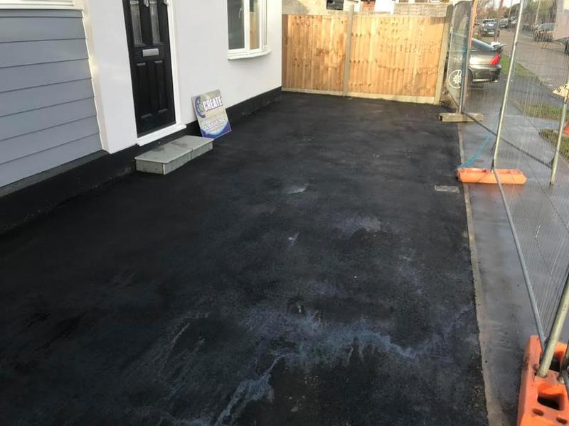 Image 19 - Tarmac driveway installed for a low maintenance, cost effective modernisation of this property.