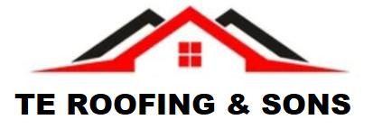 TE Roofing & Sons logo