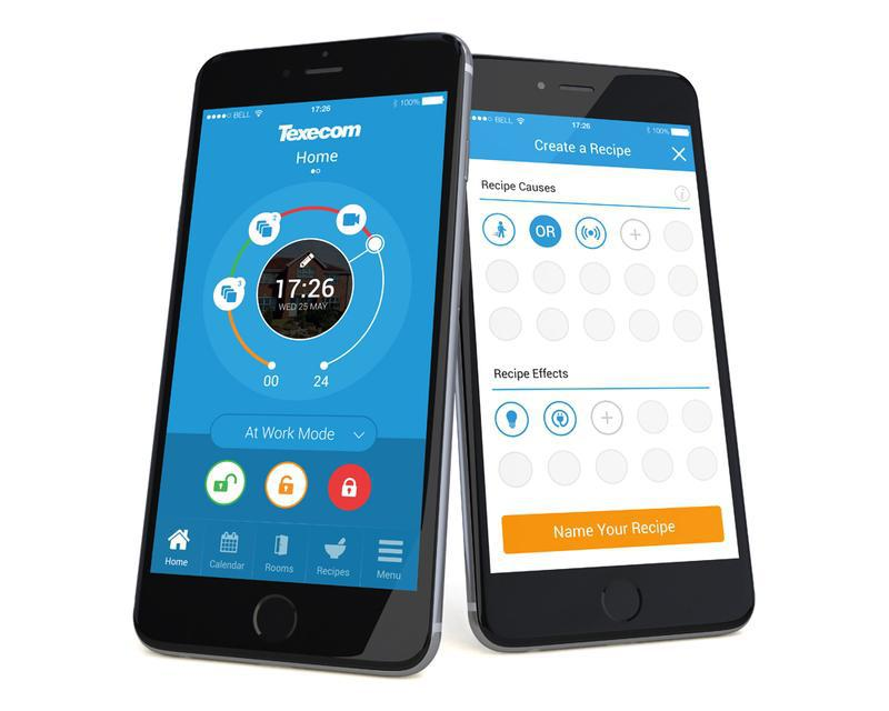 Image 1 - Texecom Smart App. Control Your Alarm From Anywhere.