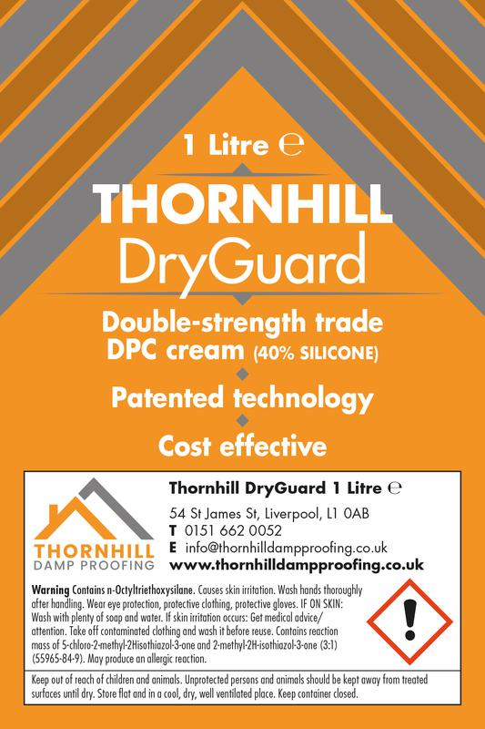 Image 6 - Our Remedial Damp Proof Course - DryGuard