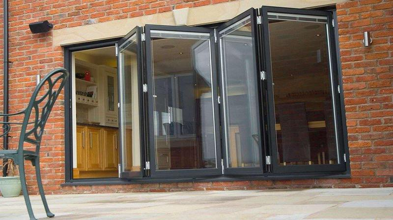 Image 93 - Thorpe Bay-Grey Bi-folding doors