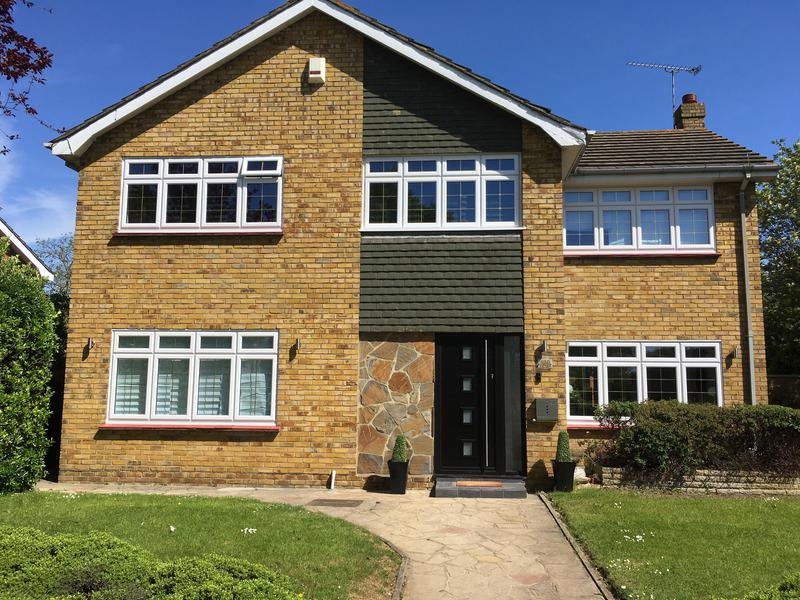 Image 33 - Thorpe Bay-White casement windows and composite door