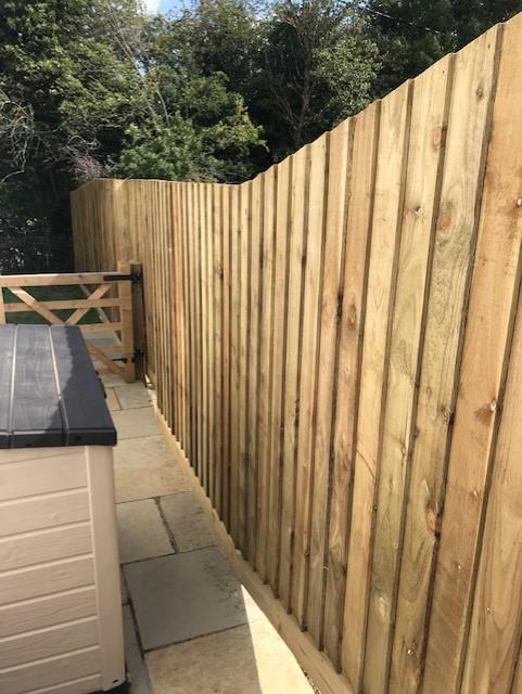 Image 43 - Feather Edge Fence