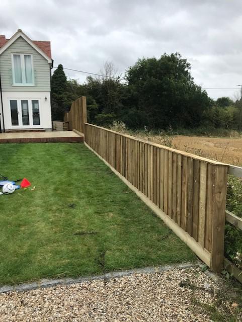 Image 39 - Feather Edge Fence