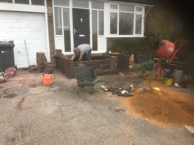 Image 11 - Brick step construction in Guildford Surrey
