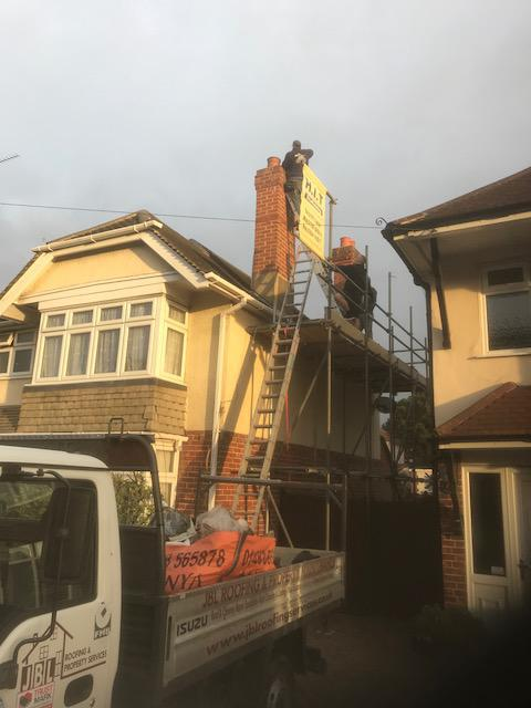 Image 57 - Chimney removal in Farnbrough