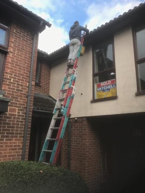 Image 51 - Gutter cleaning in Camberly Surrey