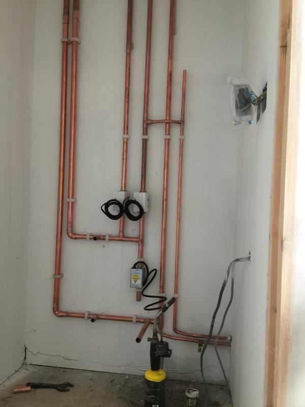 Image 3 - Ideal boiler installation.