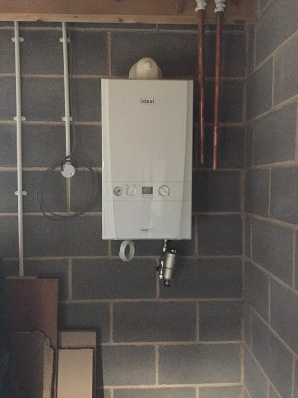Image 4 - Ideal boiler installation.