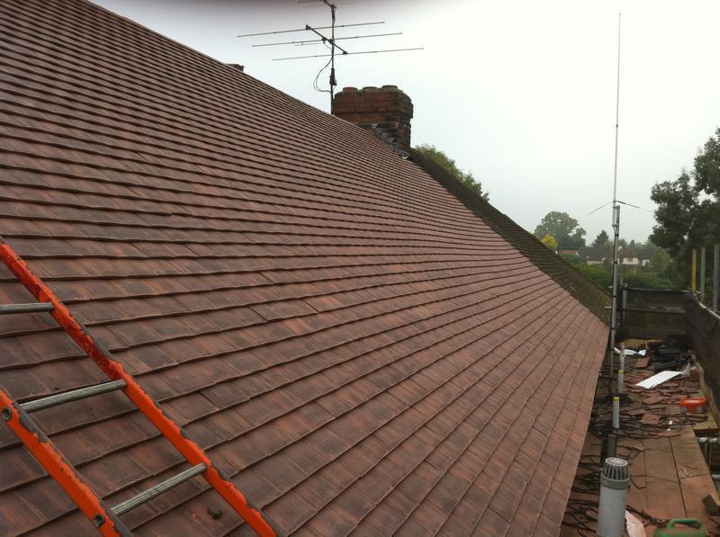 Image 3 - Plain Tile Re-Roof - Gerrards Cross, Buckinghamshire