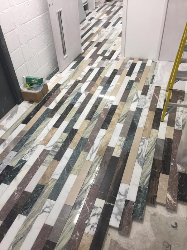 Image 27 - Hallway tiling