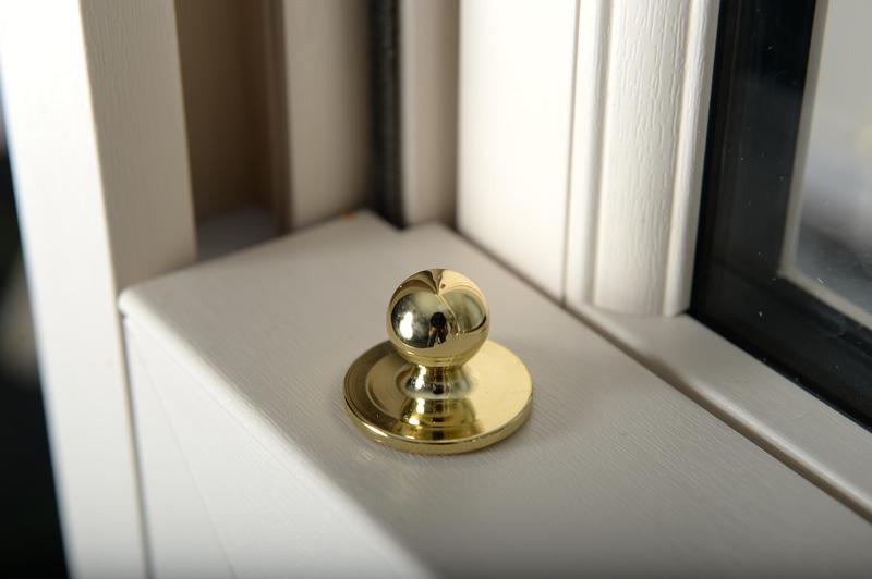 Image 9 - Tilt Knobs allow you to tilt the sliding sashes inward for easy cleaning from inside the home