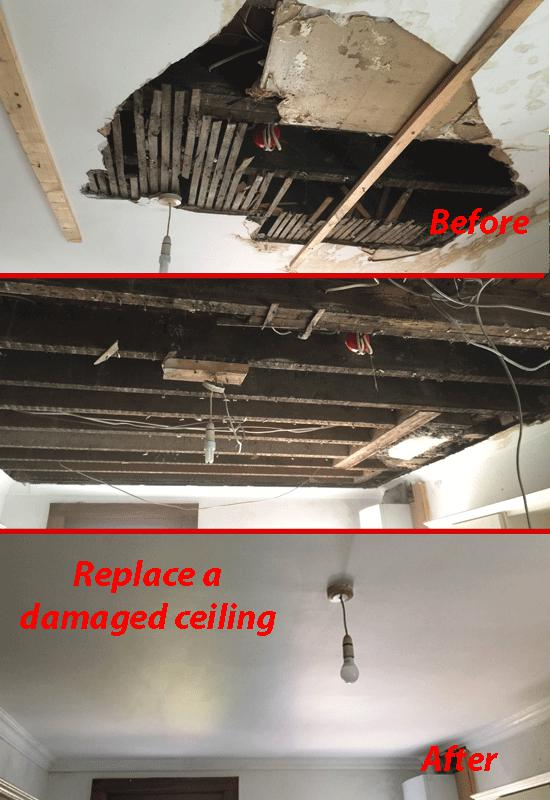 Image 11 - Remove and re-install a kitchen ceiling