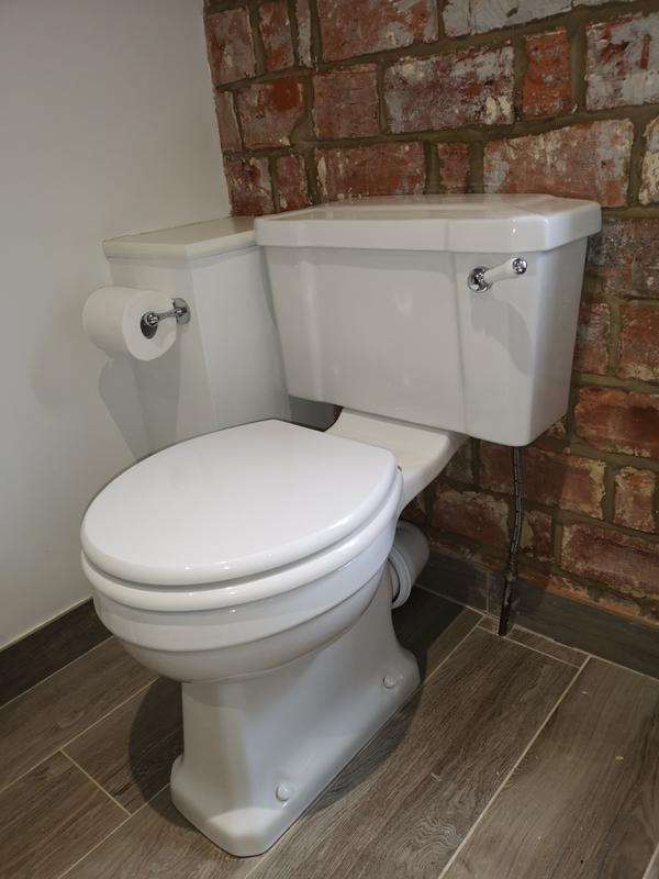 Image 54 - Closed couple toilet replacement in Guildford.