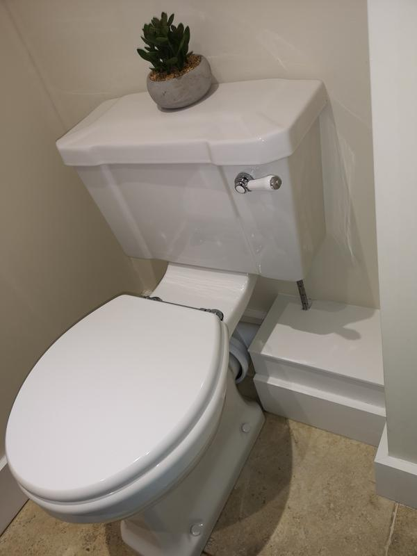 Image 49 - Closed couple toilet replacement in Guildford.